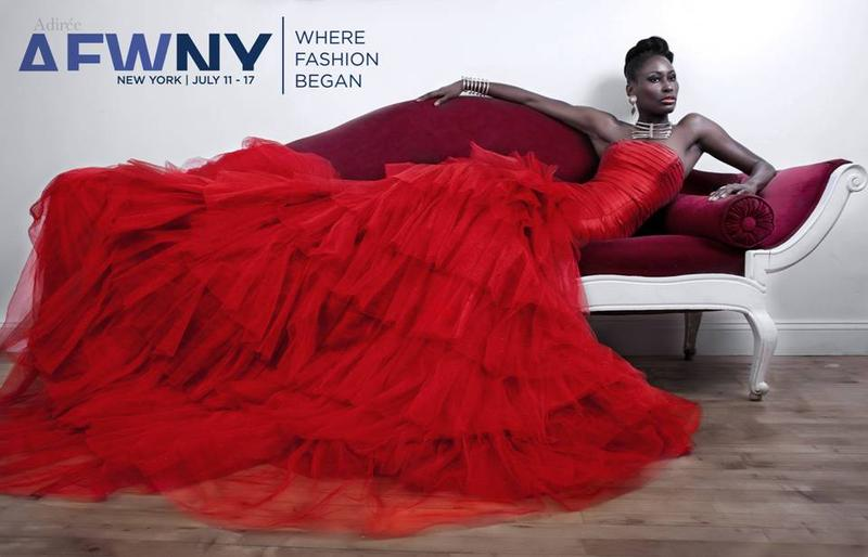 The photo campaign for Africa Fashion Week 2011 launched by Adirée