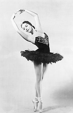Cuban Ballerina Alicia Alonso, 1955