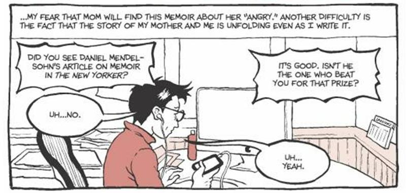 "From Alison Bechdel's graphic novel ""Are You My Mother"""