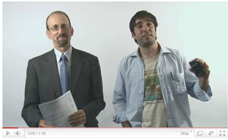 Brian Lehrer and Azi Paybarah test out the new ballots