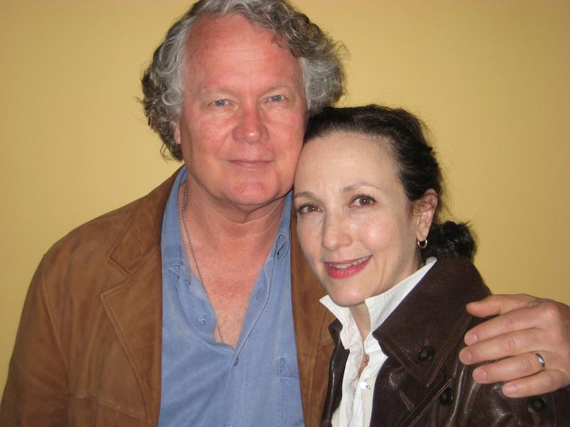 Bebe Neuwirth and her husband, Chris Calkins, at WNYC May 10, 2012