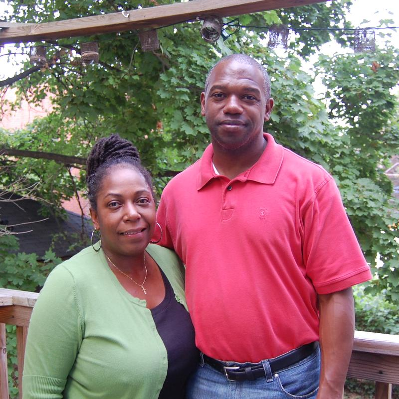 Bobby Moore, with his wife Darlene, quit his E-ZPass job after he saw fellow union supporters go.