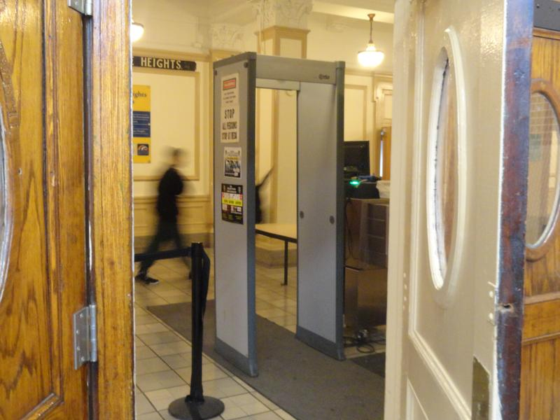 Metal Detector in New York City public school