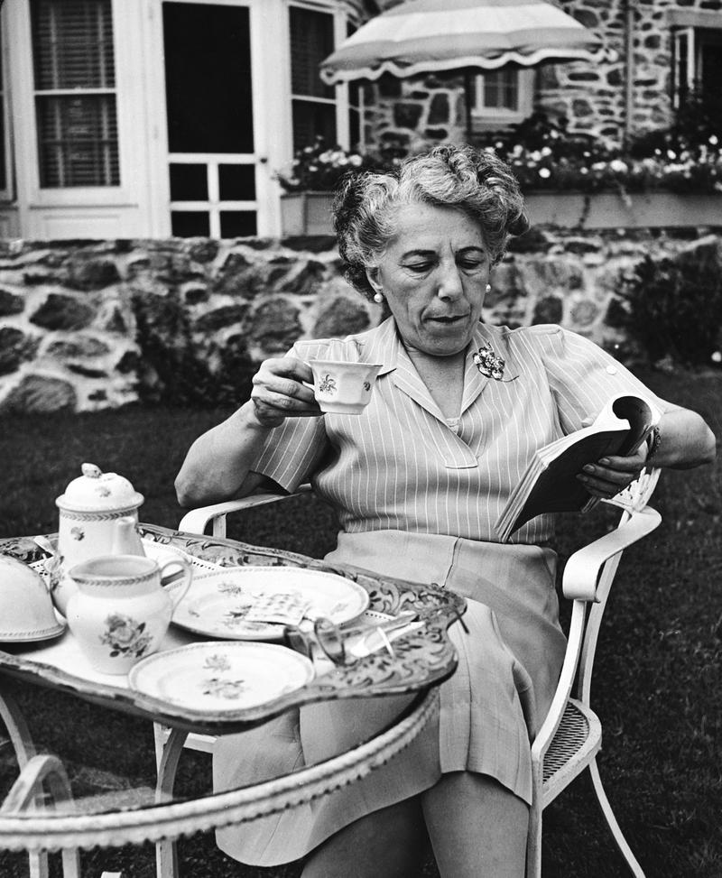 Edna Ferber, circa 1940's