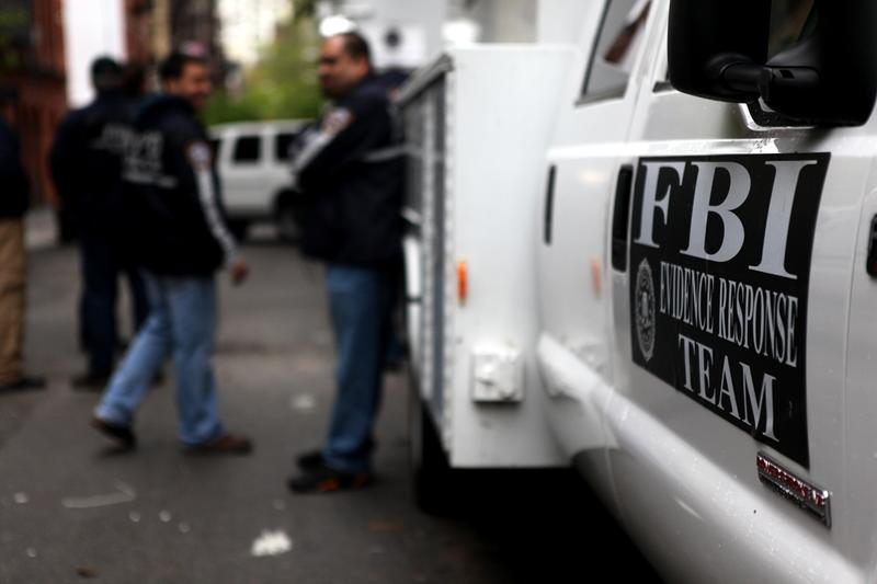 The FBI and NYPD concluded their excavation for human remains at a basement in Soho on April 23, 2012.