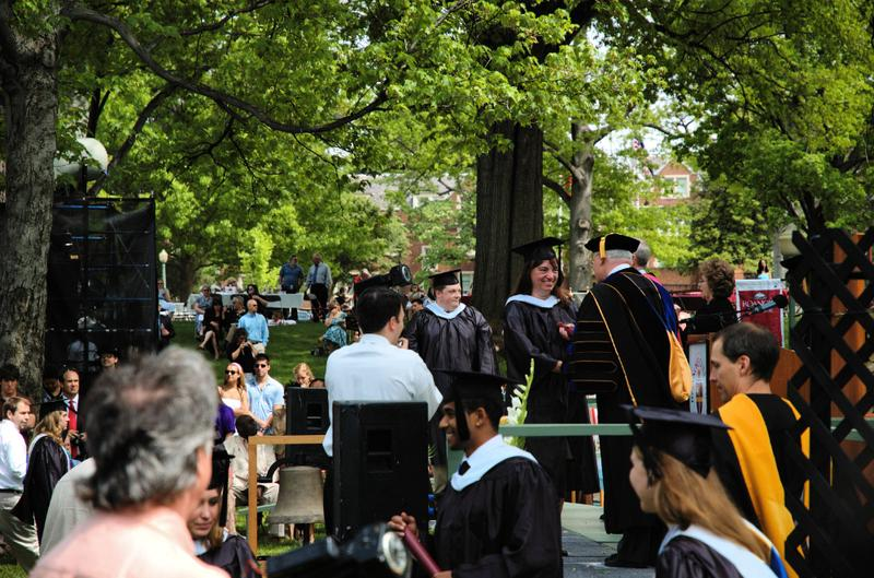 Graduation at Roanoke College