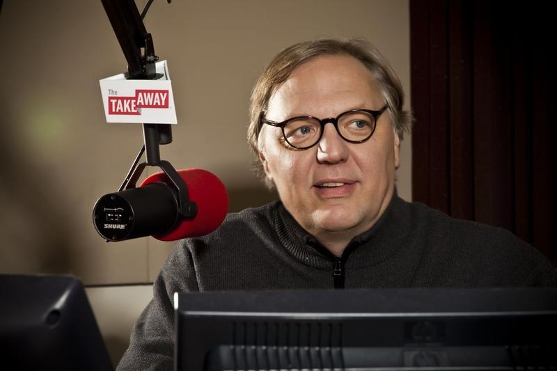 The Takeaway's host John Hockenberry.