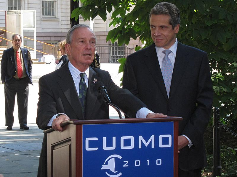 Mayor Bloomberg endorses Attorney General Andrew Cuomo for governor