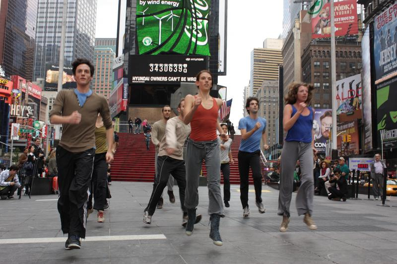 Shen Wei Dance Arts in Times Square