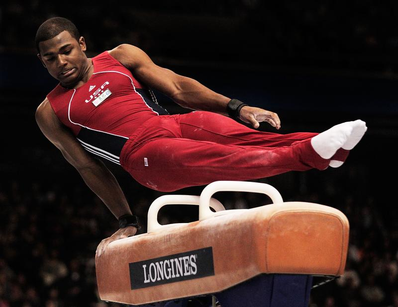 Bronx native John Orozco at the 2011 Gymnastics World Championships in Tokyo