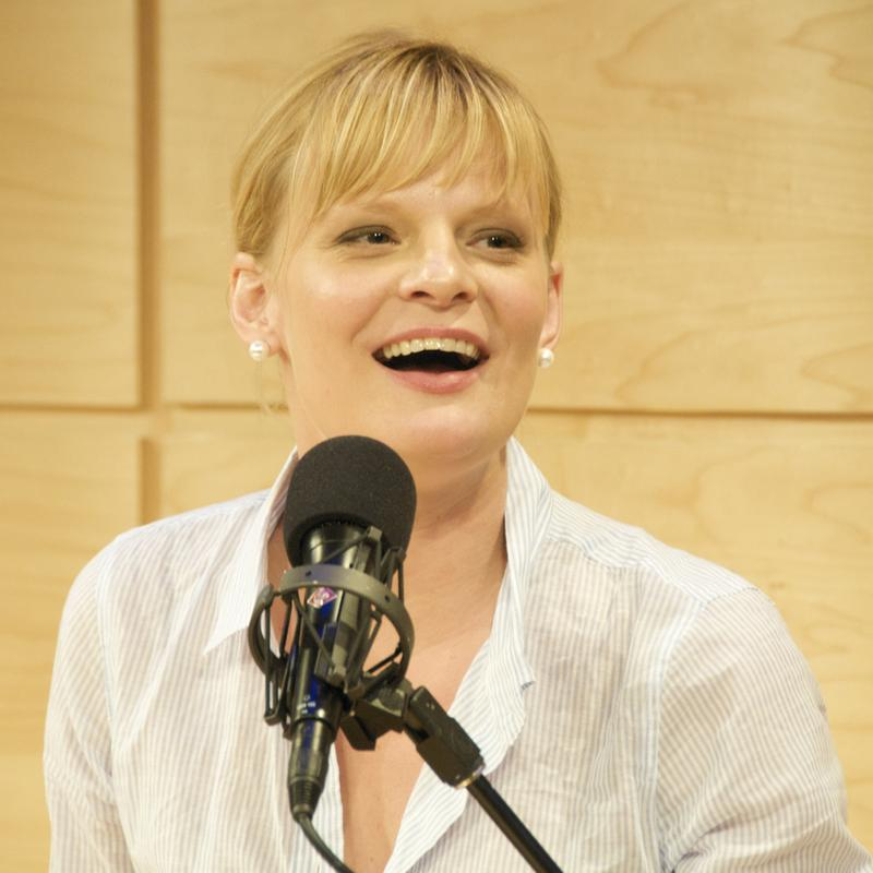 Martha Plimpton in WNYC's Jerome L. Greene Performance Space