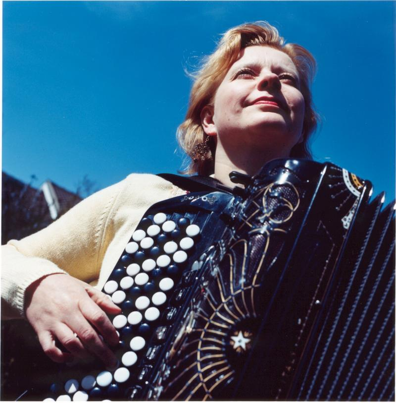 Maria Kalanemi, accordion virtuoso