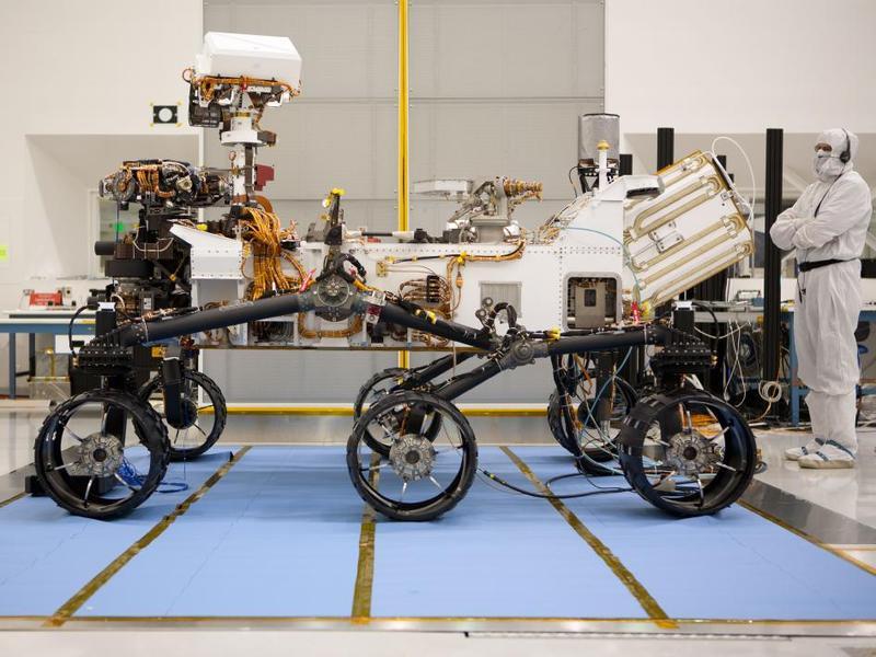 The Mars Planetary Rover Curiosity