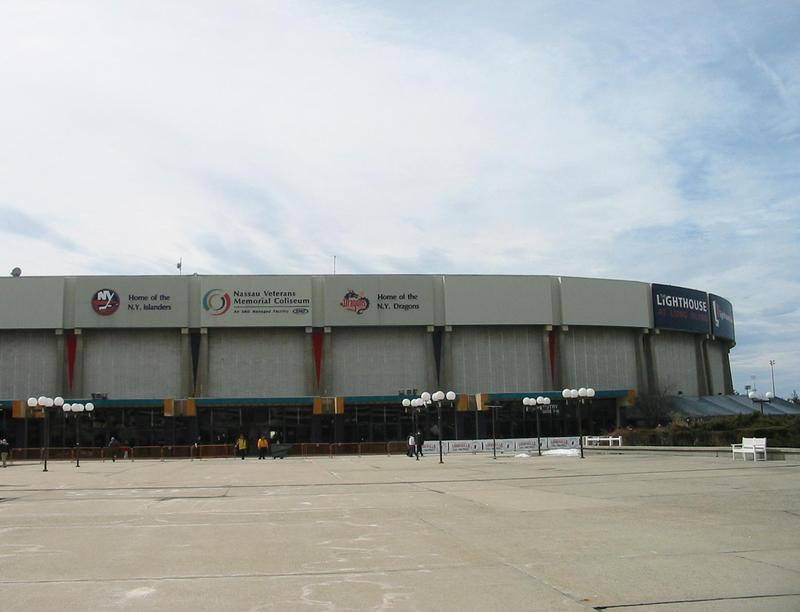 The Nassau Veterans Memorial Coliseum was built in 1972.