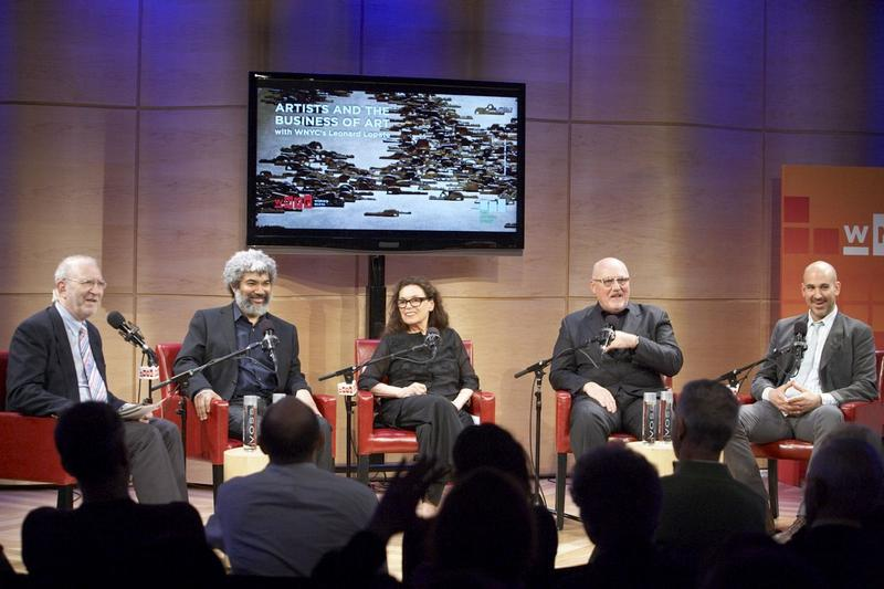 Leonard Lopate, Fred Wilson, Pat Steir, Sean Kelly, and Carter Foster, March 21, 2012