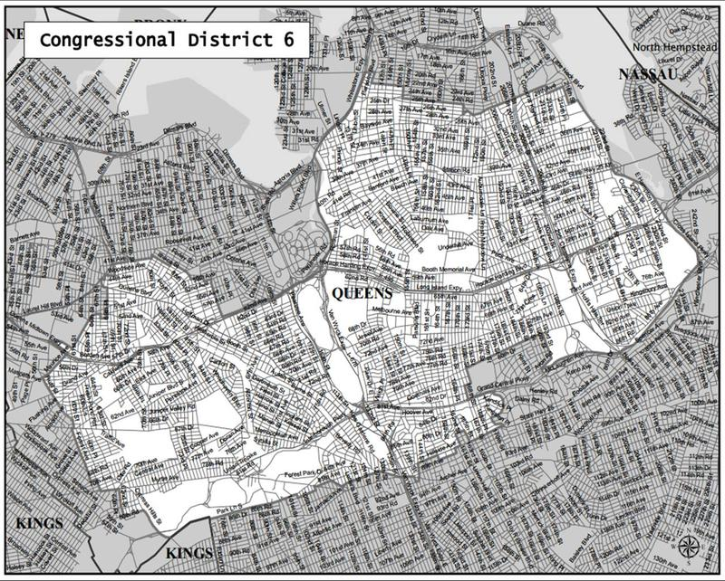 The New 6th Congressional District in Queens