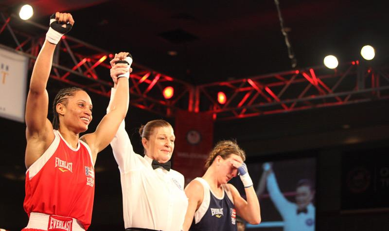 Mikaela Mayer fought six times in as many days to challenge the hometown favorite, Queen Underwood.