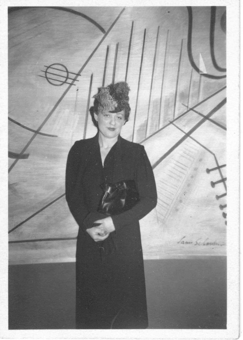 Concert pianist Nadia Reisenberg at WNYC in 1942.