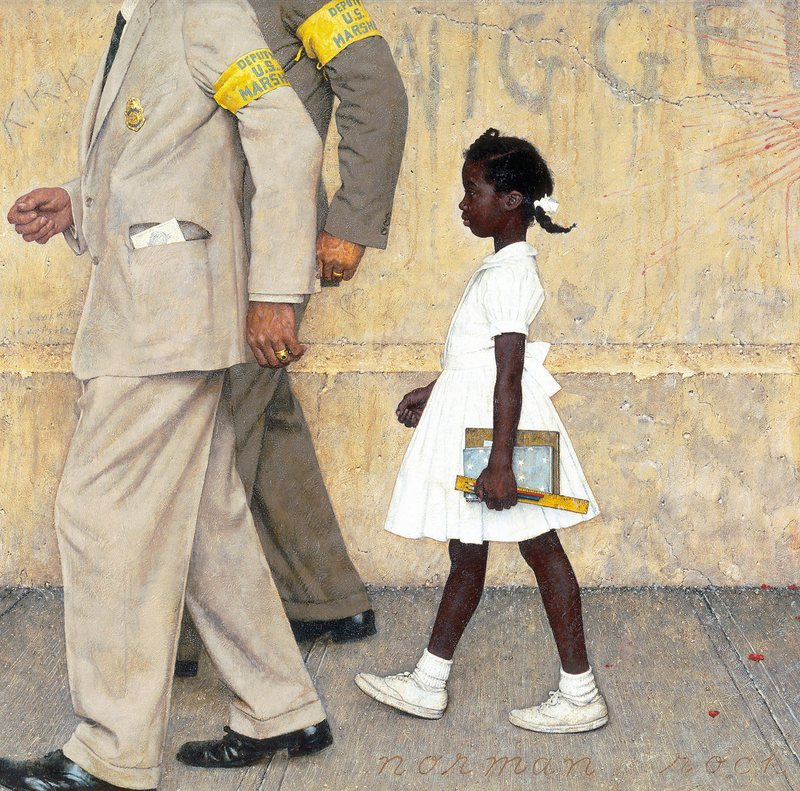"Norman Rockwell's ""The Problem We All Live With"" (1963)"