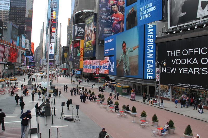 Times Square, Before