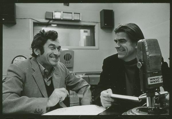 Norman Rosten with James Walter Miller, October 3, 1972