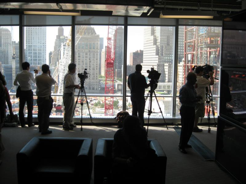 Media from around the World Get Update on World Trade Center Rebuilding