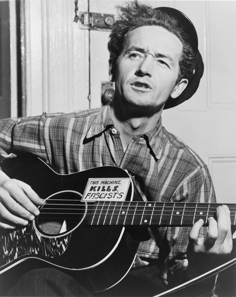 Woody Guthrie in 1943.