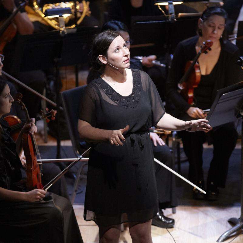 Mellissa Hughes sings David T. Little's 'Am I Born' with the Brooklyn Philharmonic and Brooklyn Youth Chorus