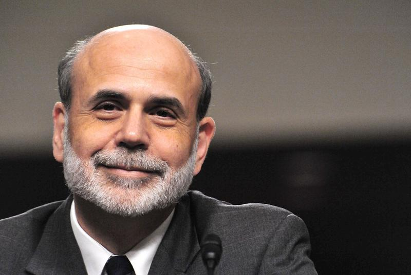 US Federal Reserve Board Chairman Ben Bernanke