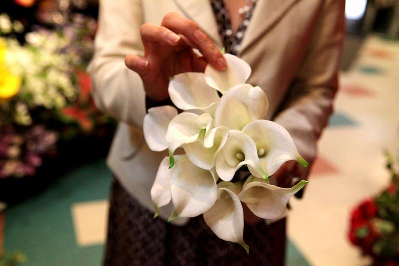 Mimi Rasamee says the artificial flower industry spent 20 years trying to make a perfect, convincing calla lilly.