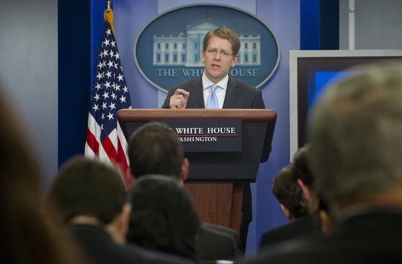 Press Secretary Jay Carney