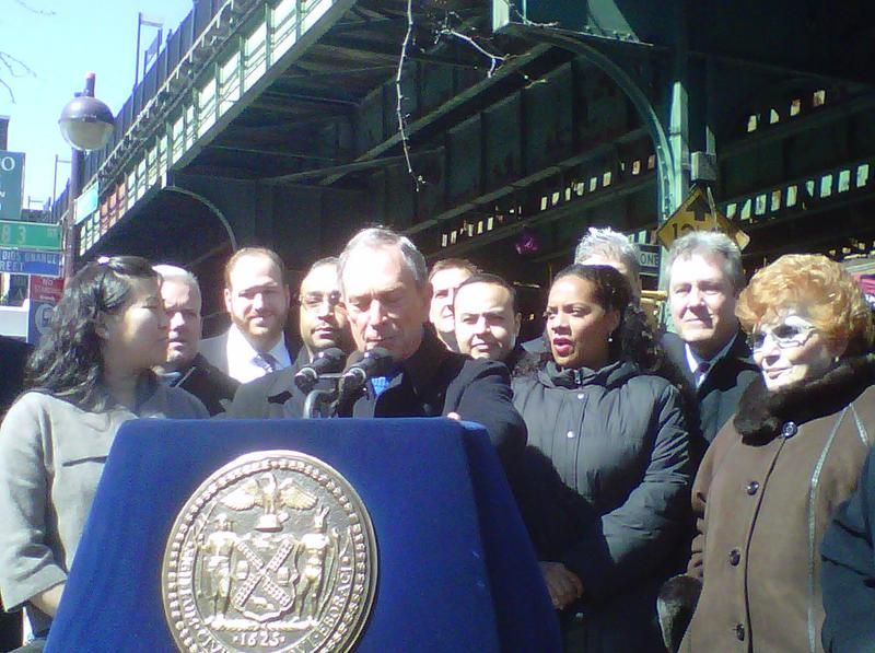 Mayor Bloomberg joined with other elected officials to announce the city's challenge to the census count