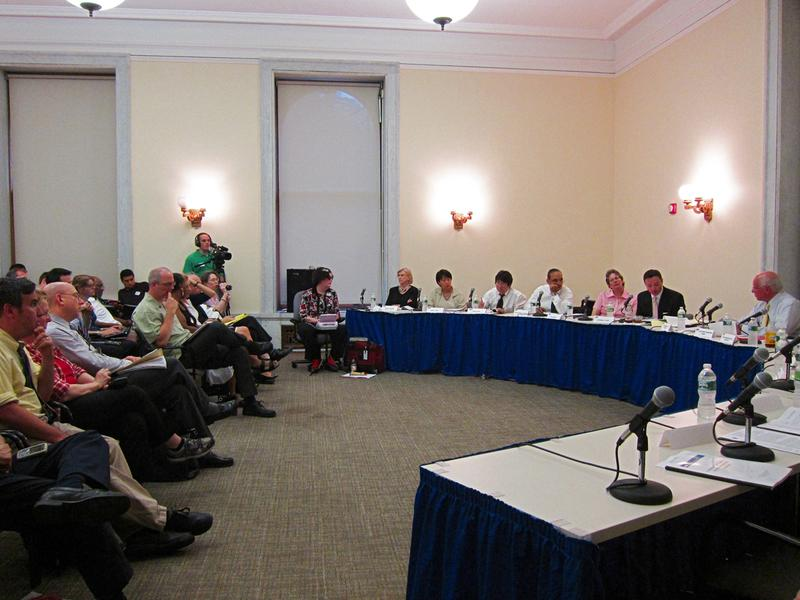 Charter Revision Commission met to debate findings of its preliminary staff report