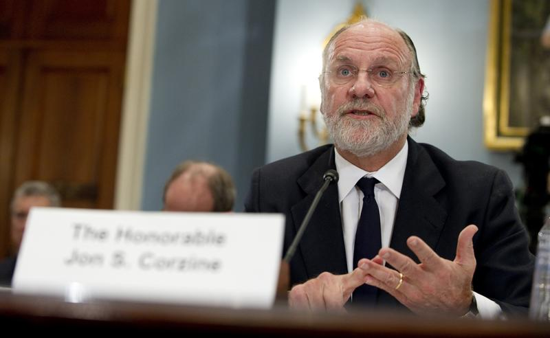 Jon Corzine, former CEO of MF Global, testifies on Capitol Hill.
