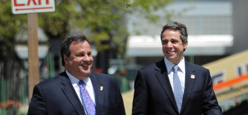 Christie and Cuomo, in July 2012