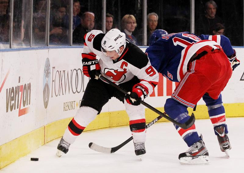 The NJ Devils and NY Rangers face off in the Eastern Conference Finals.