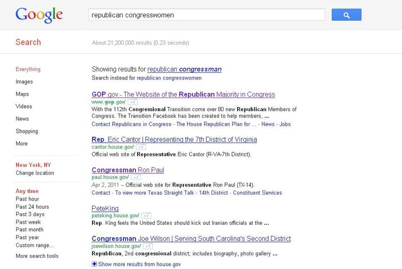 "google search for ""republican congresswoman"""