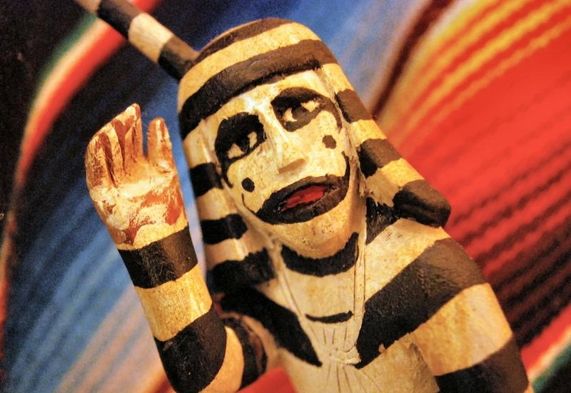 Hopi Kachina Clown