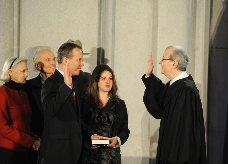 Eric T. Schneiderman Takes Oath Of Office To Become State's 65th Attorney General.