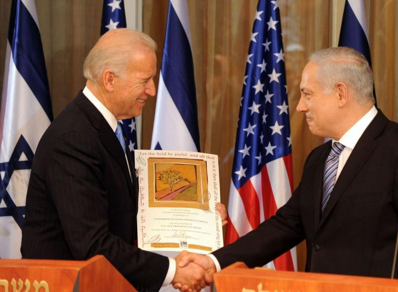 U.S. Vice President Joe Biden Visits Israel
