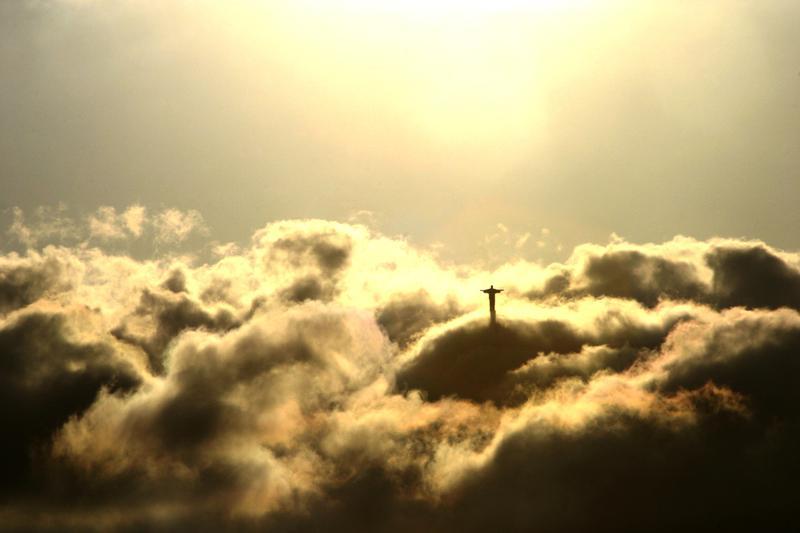 Rio de Janeiro in the clouds