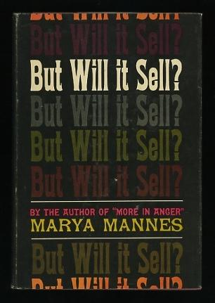 The cover of Marya Mannes's 1964 book.