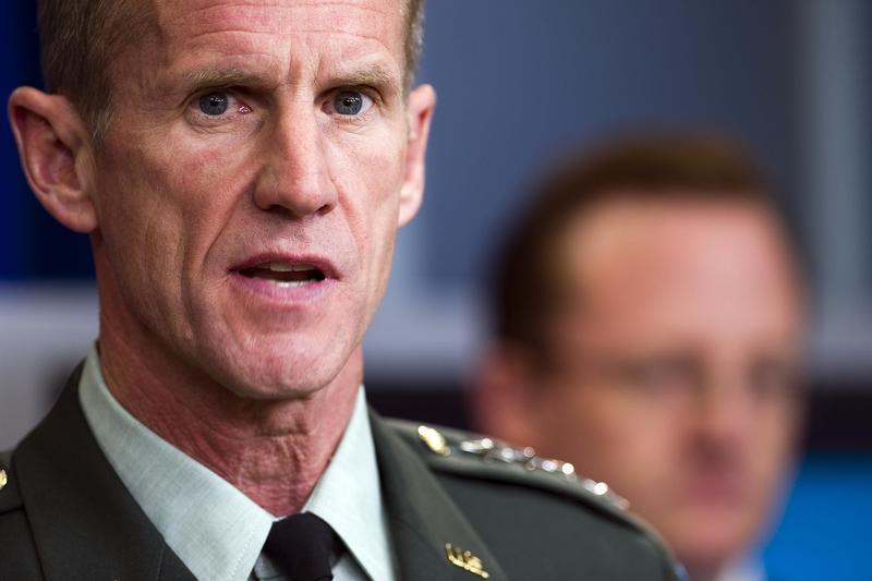 Gen. Stanley McChrystal, U.S. commander in Afghanistan, in May 2010.