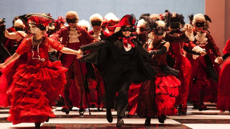 Verdi's <em>A Masked Ball</em> from the Royal Theater in Turin, Italy.