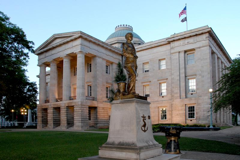 North Carolina State Capitol in Raleigh