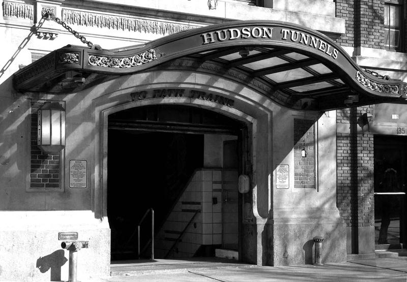 PATH/Port Authority Trans-Hudson Christopher Street Station/originally Hudson & Manhattan Railroad entrance, 137 Christopher St., bet Hudson and Greenwich Sts. N Side. 1912