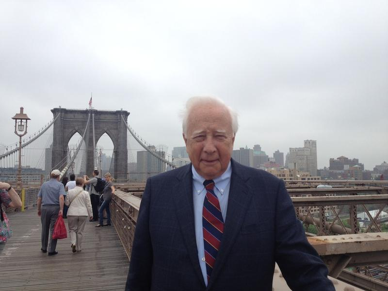 Historian David McCullough, author of The Great Bridge, on the Brooklyn Bridge.