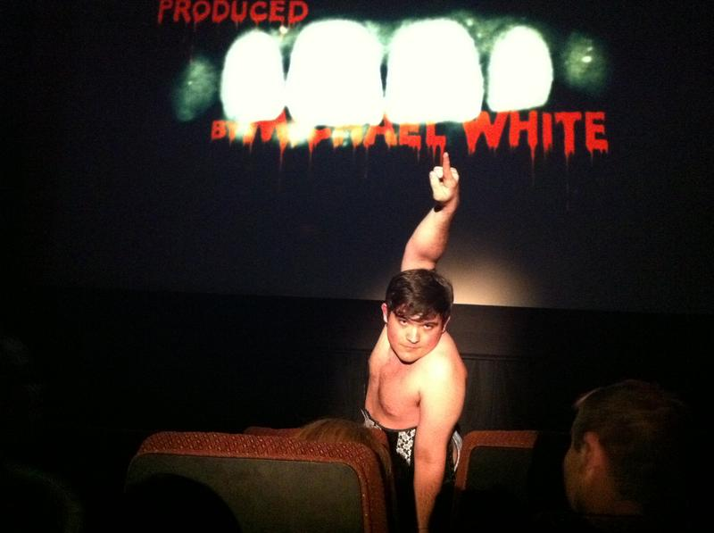 "Radio Rookie Eric ""Grayson"" Leinung performing at The Rocky Horror Picture Show"