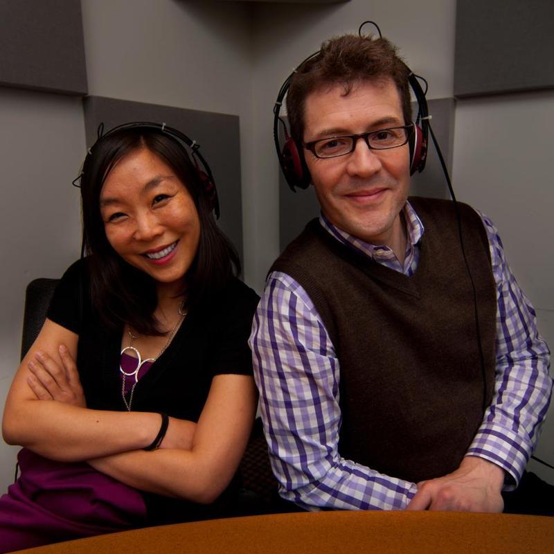 Kristen Meinzer and Rafer Guzman, Movie Date hosts.