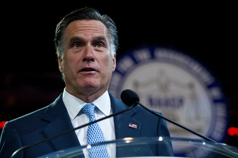 Mitt Romney addressed the NAACP's annual meeting on July 11, 2012.